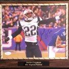 Justin Coleman #22 New England Patriots Autographed Custom Photo Plaque