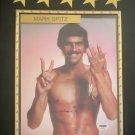 Mark Spitz Olympic Swimming 9X Medalist Autographed Custom Photo Plaque