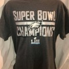 Philadelphia Eagles Super Bowl LII Champions Official T-Shirt Size Large