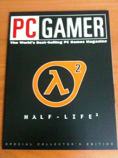 PC Gamer Half-Life 2 Special Edition Cover for E3 2004