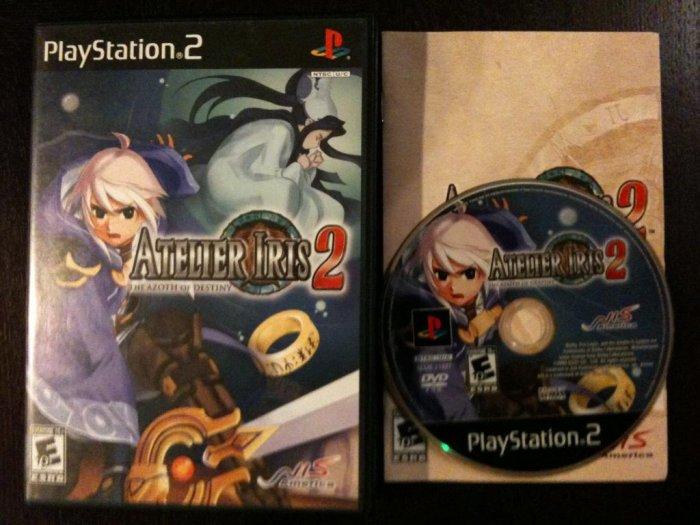 PS2 Atelier Iris 2 Azoth of Destiny Complete