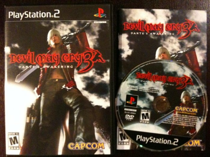 PS2 Devil May Cry 3 Complete