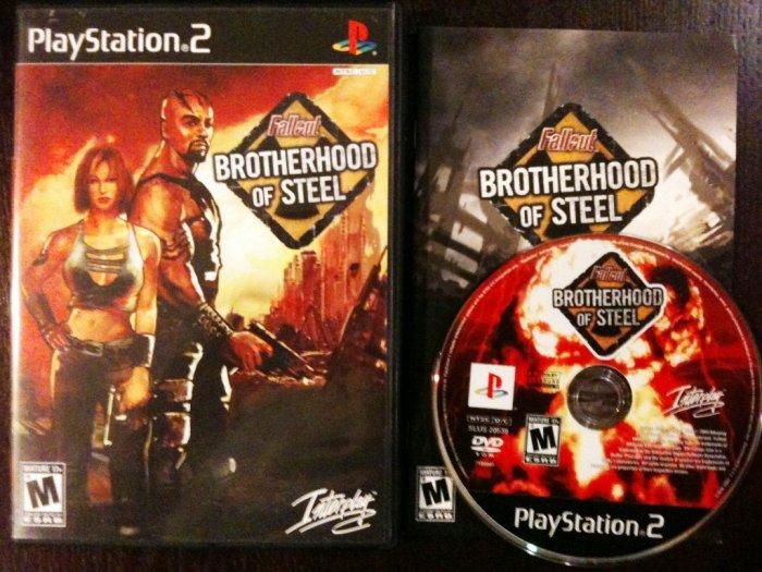 PS2 Fallout Brotherhood of Steel
