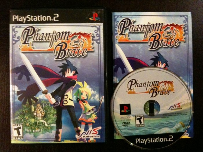 PS2 Phantom Brave Complete
