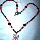 Lovely Pictureframe & Crystal Necklace