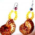 Golden Tropic Earrings