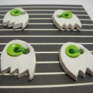 Coconut Lime Boo Ghost Buttons - my lime