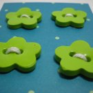 Lime Flower Handmade Buttons  - mylime