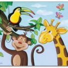 "11""x14"" ART PRINT FOR KIDS / JUNGLE ANIMALS **new **"