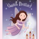 "11""x14"" GIRLS NURSERY WALL ART PRINT/FAIRY SWEET DREAMS"