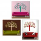 Whimsical Spring Tree Vinyl Wall Decal - Two Colors