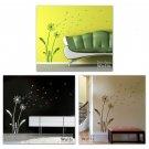 Dandelion Wishes - Vinyl Wall Decal Smileywalls Design