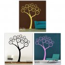Surreal Clock Tree - Large - Vinyl Wall Decal