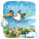 "11""x11""  ART PRINT NURSERY KID'S ROOMS /  NEW BABY"