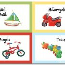 "11""x14"" ART PRINT FOR  KID'S ROOMS / VEHICLE TOYS"