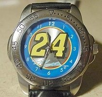 Jeff Gordon #24 NASCAR Racing Mens Watch Wristwatch
