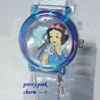 Disney Princess Snow White Girls Jewelry Watch Wristwatch