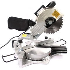 """10"""" Compound Sliding Miter Saw With Laser Guide New"""