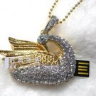 data traveler flash drive necklace 8GB