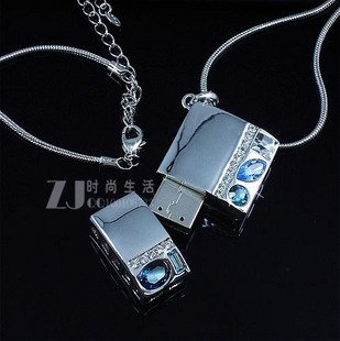data traveler flash drive necklace 16GB