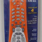 University of Illinois U of I Fighting Illini orange 4-device universal remote control one-for-all