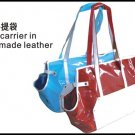 Pet Hand Carrier in Hand Made Leather