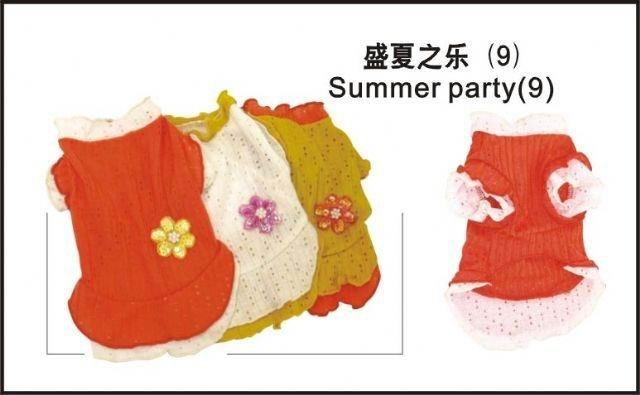Wholesale Dog Apparel - Summer Party (9)   (Total : 108 pcs)