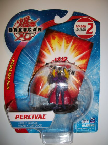 "BAKUGAN NEW VESTROIA 2"" PERCIVAL Figure"