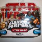 STAR WARS GALACTIC HEROES LUKE/LANDO Figures