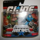 GI JOE COMBAT HEROES ROADBLOCK/ COBRA COMMANDER Figures