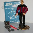 STAR TREK CAPTAIN PICARD Action Figure loose