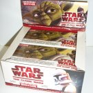 STAR WARS THE CLONE WARS WIDEVISION UNOPENED 2009 Trading Card Pack