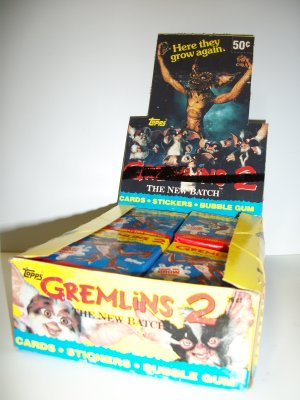 GREMLINS 2 1990 UNOPENED Trading Card Pack