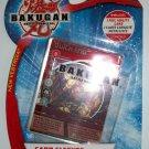 BAKUGAN CARD SLEEVES w/ FOIL CARD
