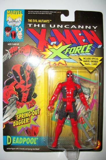 X MEN 1992 X FORCE DEADPOOL Action Figure