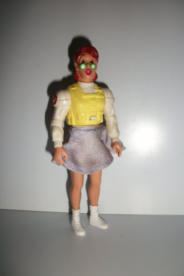 GHOSTBUSTERS 1989 JANINE Action Figure