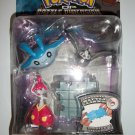 POKEMON MEDICHAM/ MANTYKE/ STARLY Action Figures