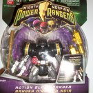 POWER RANGERS ACTION BLACK RANGER Action Figure