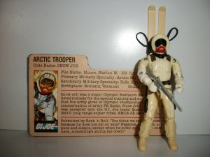 GI JOE 1983 SNOW JOB Action Figure