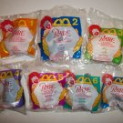 McDONALD'S 1995 BABE PLUSH TOY COMPLETE SET