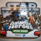 STAR WARS GALACTIC HEROES CAD BANE/ AURRA SING Figures