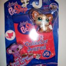 LITTLEST PET SHOP 2008 COLLECTOR JOURNAL and DOG