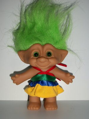 treasure troll disco dress troll doll