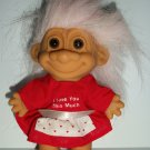 "RUSS BERRIE ""I LOVE YOU..."" TROLL DOLL"