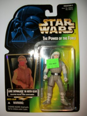 STAR WARS 1996 LUKE SKYWALKER (HOTH GEAR) Action Figure