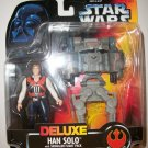 STAR WARS 1996 DELUXE HAN SOLO Action Figure