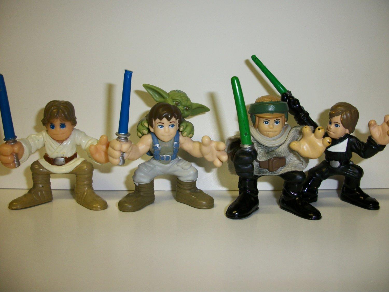 "STAR WARS GALACTIC HEROES ""STAGES of LUKE"" Lot"
