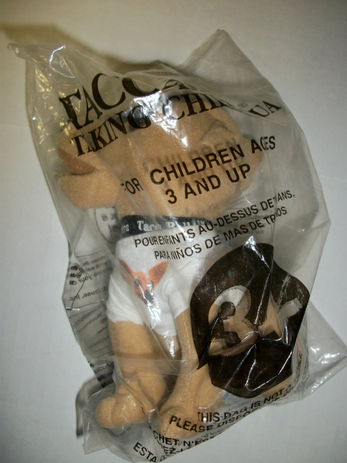 """TACO BELL """"How Cool is This?"""" TALKING CHIHUAHUA Doll"""