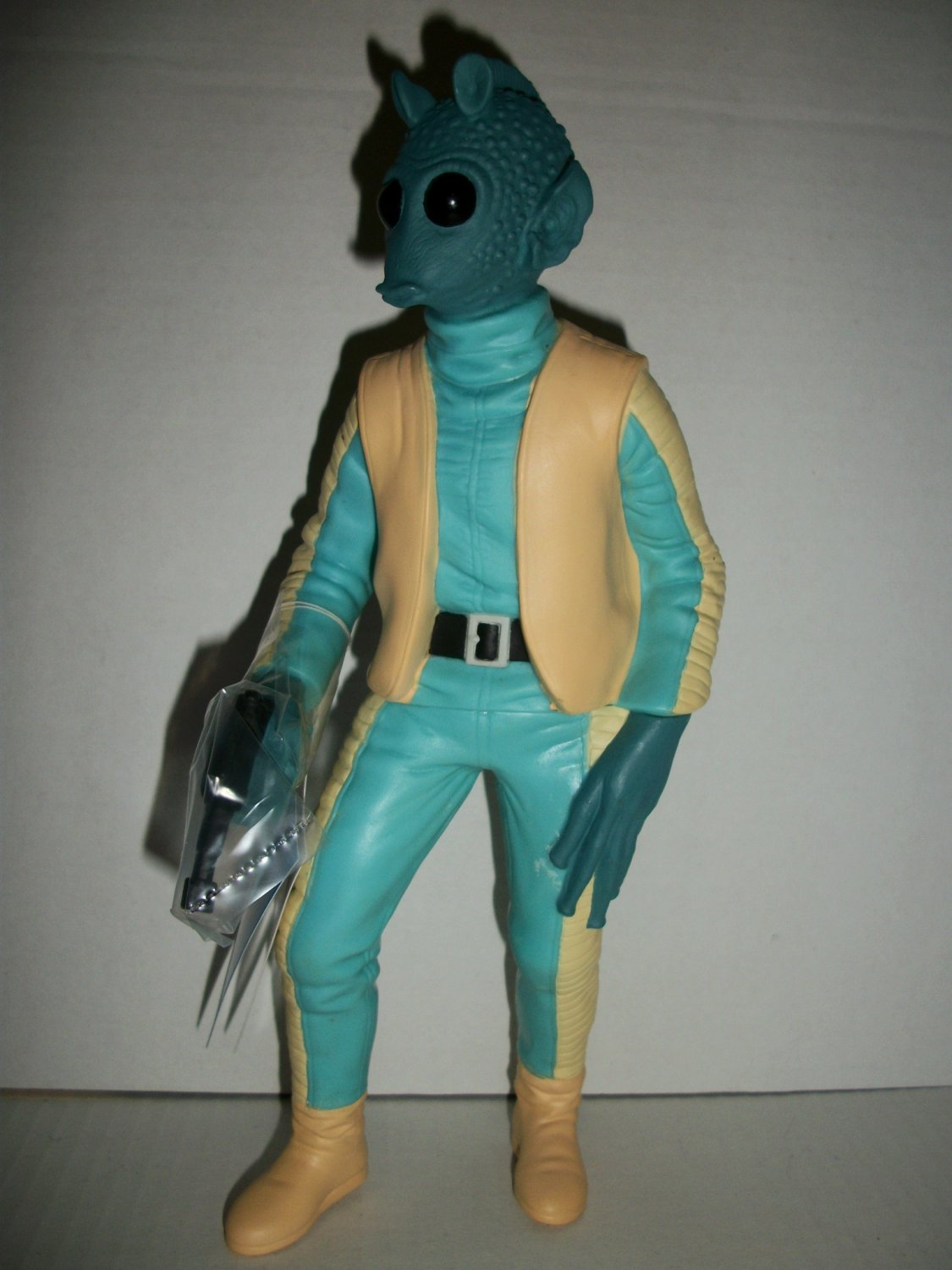 STAR WARS 10 in VINYL GREEDO Figure