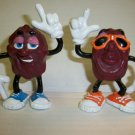 CALIFORNIA RAISINS VINTAGE lot of 2